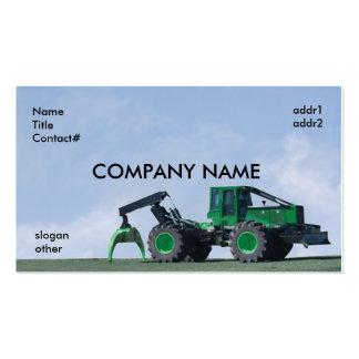 blue sky skidder business cards