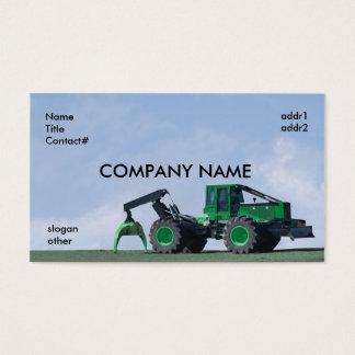 blue sky skidder business card