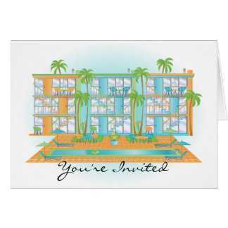 Blue Sky Snazzy Apartments Card