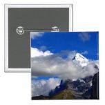 Blue Sky Snowy Mountain Pins