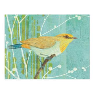 Blue Sky Songbird Postcard