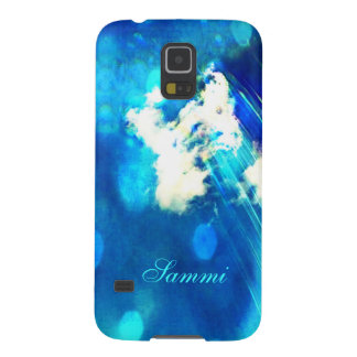 Blue Sky Sparkle Galaxy S5 *Personalize* Galaxy S5 Case
