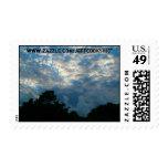 Blue sky stamp