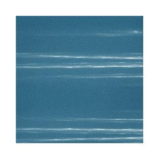 Blue Sky Streaked Canvas