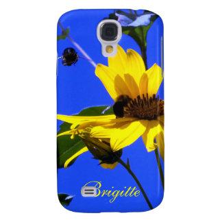 Blue Sky, Sunflowers N Bees HTC VIVID case
