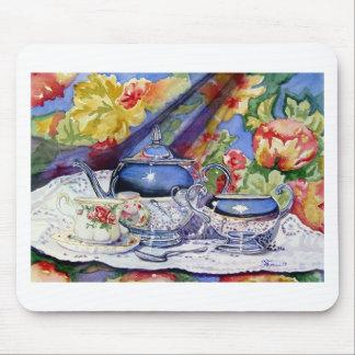 Blue Sky Tea Mouse Pad