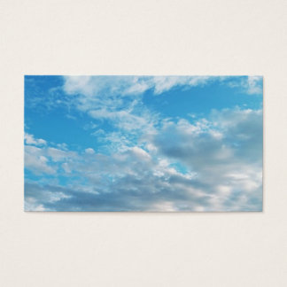"Blue Sky Themed Business, 3.5"" x 2.0"", 100 pack Business Card"