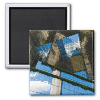 Blue Sky Thinking 2 Inch Square Magnet
