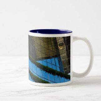 Blue Sky Thinking Two-Tone Coffee Mug