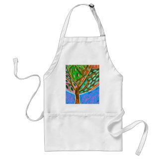 Blue Sky Tree of Life Adult Apron