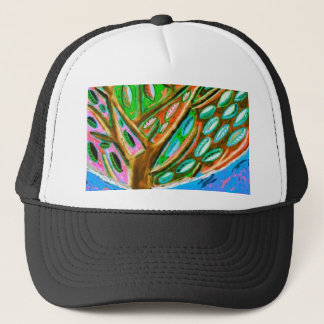 Blue Sky Tree of Life Hat