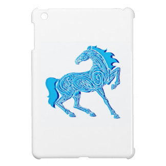 BLUE SKY TROTTING iPad MINI CASE