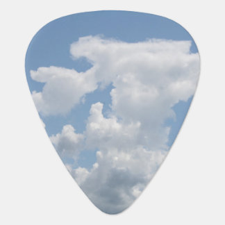 Blue Sky White Cloud Guitar Pick