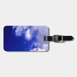 Blue Sky & White Clouds Bag Tags