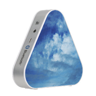Blue Sky White Clouds Bluetooth Speaker