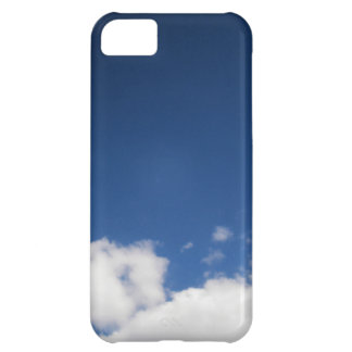 Blue Sky White Clouds iPhone 5C Cases
