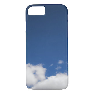 Blue Sky & White Clouds iPhone 7 Case