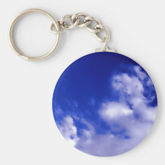 Blue Sky & White Clouds Key Chain