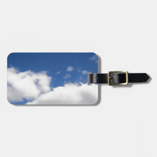 Blue Sky & White Clouds Luggage Tag