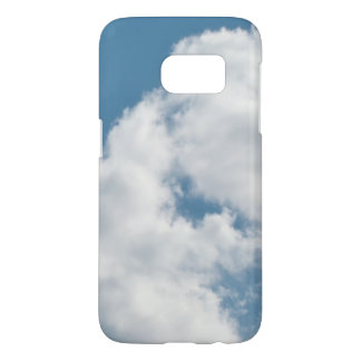 Blue Sky White Clouds Photograph Samsung Galaxy S7 Case