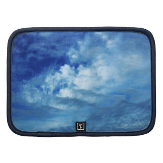Blue Sky White Clouds Planner