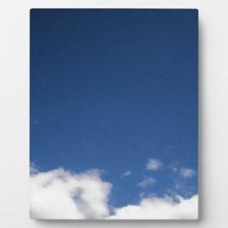 Blue Sky & White Clouds Plaque