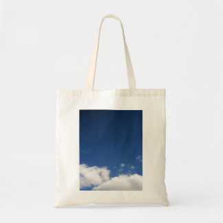 Blue Sky & White Clouds Tote Bag