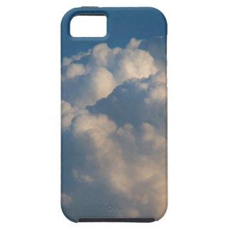 Blue sky. White puffy clouds iPhone 5 Case