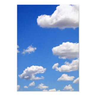 Blue sky with clouds for background card