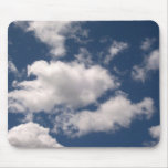 Blue Sky with Clouds Mousepad