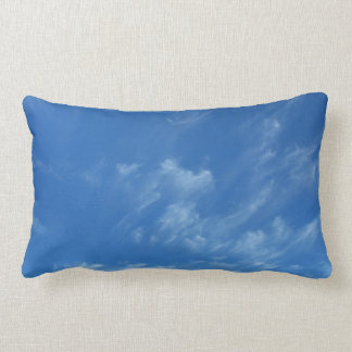 Blue Sky With Clouds Pillow