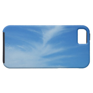 Blue Sky with White Clouds Abstract Nature Photo iPhone SE/5/5s Case