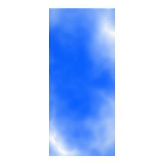 Blue sky with white clouds. custom rack card