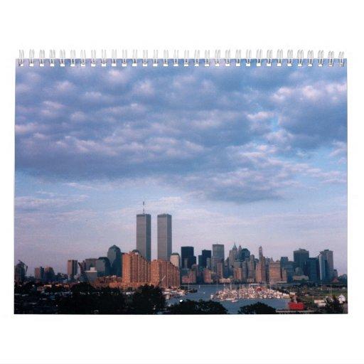 Blue Sky World Trade Center Calendar