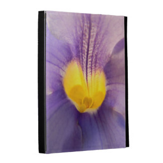 Blue skyflower macro photo iPad cases