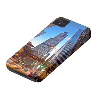 Blue skys and big buildings iPhone 4 cover