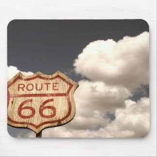 Blue Sky's on Route 66 Mouse Pad