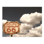 Blue Sky's on Route 66 Postcard