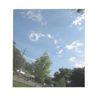Blue SKYview Sky CherryHILL America Gifts NVN684 f Memo Note Pad