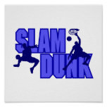 Blue Slam Dunk Posters