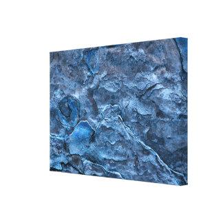 Blue Slate Canvas Print