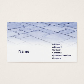 blue slates business card