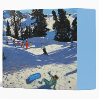Blue Sledge Belle Plagne Binder