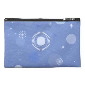 "Blue small pocket of voyage decoration ""Star "" Travel Accessories Bag"