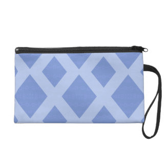 "Blue small pocket with wrist-strap decoration ""Rho Wristlet Purse"