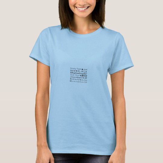 "Blue ""Smarty Pants"" Logo Shirt"