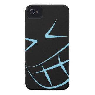 Blue Smile Face BlackBerry Bold Case