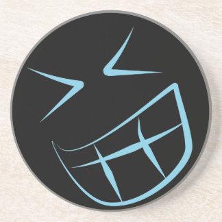 Blue Smile Face Coaster