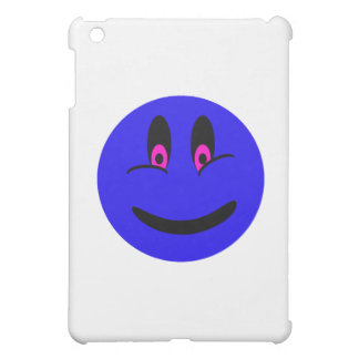 Blue Smiley Face Case For The iPad Mini