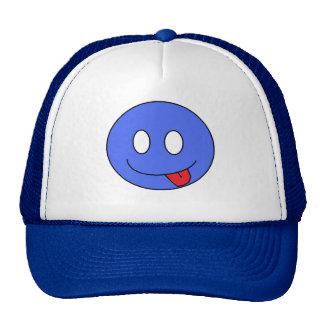 Blue Smiley Hat